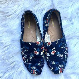 Shoes - Joy & Mario Floral Flats